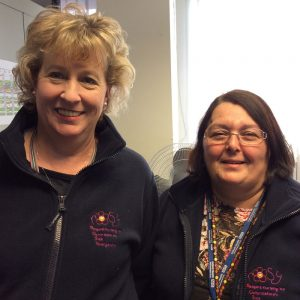 ROSY Nurses Liz Hill and Sandra Warlow